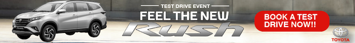 Feel The New Rush Test Drive