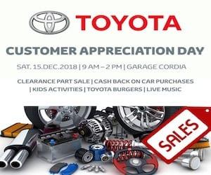 Cordia Evento pa Aprecia Cliente y Parts Sales
